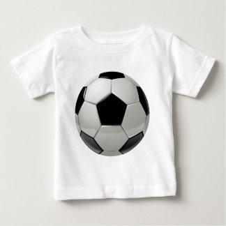 Bola de futebol do futebol camiseta para bebê