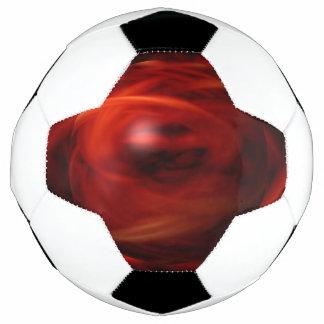 Bola De Futebol Esfera do fogo vermelho