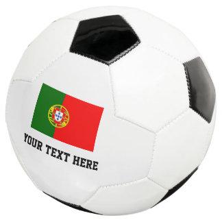 Bola de futebol feita sob encomenda com a bandeira