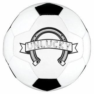 Bola De Futebol Ferradura azarado