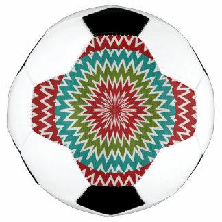 Bola De Futebol Flor mandalaic hipnótica
