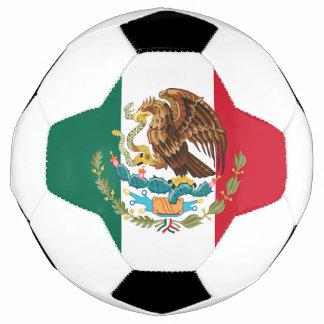 Bola De Futebol Futebol mexicano do orgulho: Bandeira & brasão de