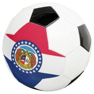 Bola De Futebol Gráfico dinâmico da bandeira do estado de Missouri