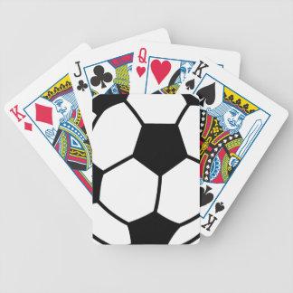 Bola de futebol jogo de carta