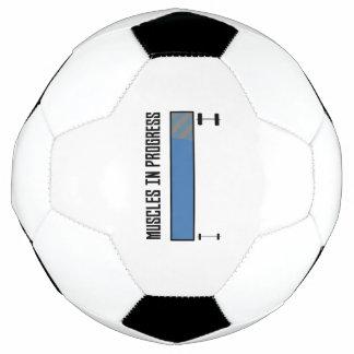 Bola De Futebol Muscles o exercício em andamento Z8jh1