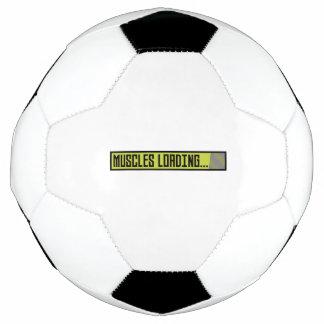 Bola De Futebol Músculos que carregam Progressbar Zqy9t