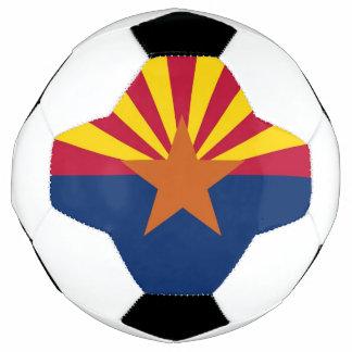 Bola de futebol patriótica com a bandeira da