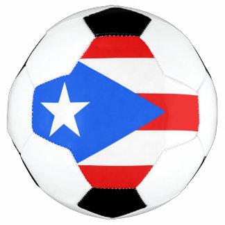 Bola de futebol patriótica com a bandeira de