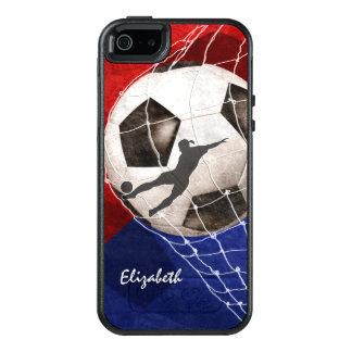 Bola de futebol que amolga o futebol da menina