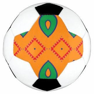 Bola De Futebol Rhombus e o outro design do abstrato das formas