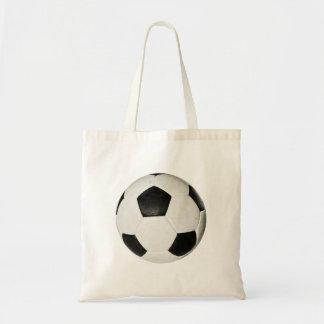 Bola de futebol sacola tote budget
