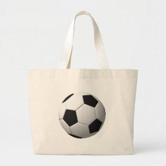 Bola de futebol: sacola tote jumbo