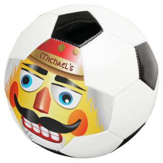 Bola De Futebol Soldado de brinquedo engraçado do Nutcracker com