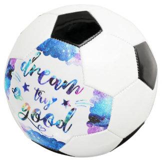 Bola De Futebol Sonho. Tentativa. Faça bom