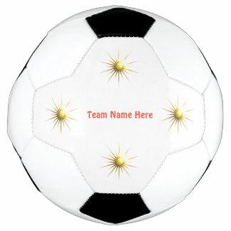 Bola De Futebol Sun abstrato