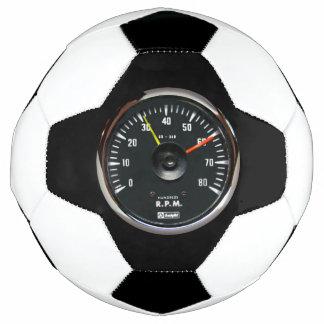 Bola De Futebol Tacômetro análogo redondo do vintage auto