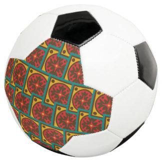 Bola De Futebol Teste padrão da tapeçaria