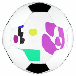 Bola De Futebol Um canto da cidade