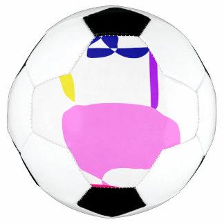 Bola De Futebol Uma fruta cor-de-rosa