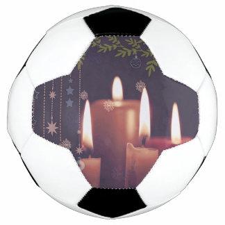Bola De Futebol velas do Natal