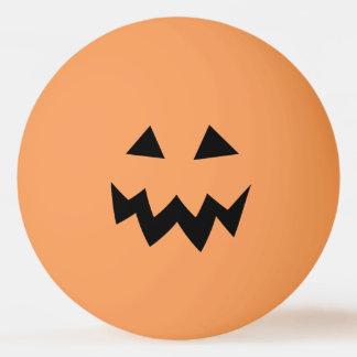 Bola De Ping Pong A cabeça alaranjada da abóbora do Dia das Bruxas