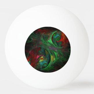 Bola De Ping-pong Arte abstracta verde da génese