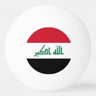 Bola De Ping-pong Bandeira de Iraque