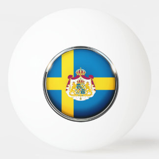 Bola De Ping-pong Bandeira sueco