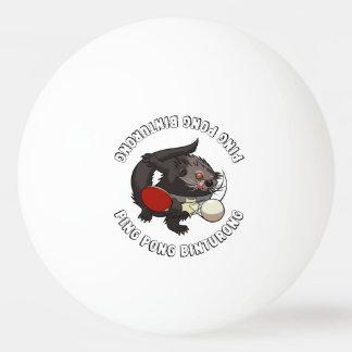 Bola De Ping Pong Bearcat do jogador de ténis de mesa de Pong