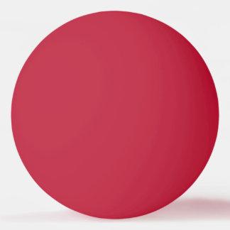 Bola de ping pong contínuo da cor vermelha