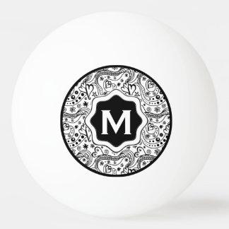 Bola De Ping-pong Corações personalizados na moda e teste padrão do