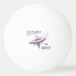 Bola de ping pong de ROSWELL