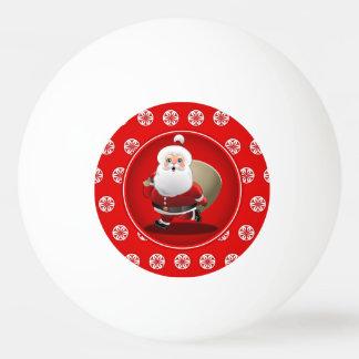 Bola De Ping Pong Desenhos animados bonitos de Papai Noel