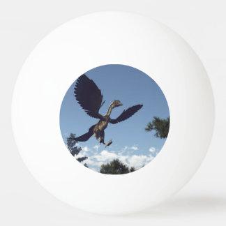 Bola De Ping Pong Dinossauros dos pássaros do Archaeopteryx que voam