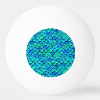 Bola De Ping-pong Escalas do azul do Aqua de Falln