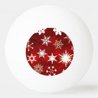 Bola De Ping Pong Flocos de neve festivos do Natal