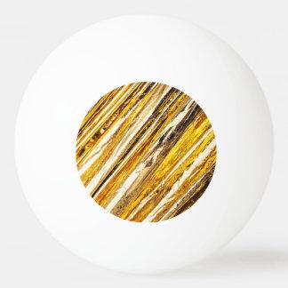Bola De Ping Pong Folha de ouro cintilante de Falln