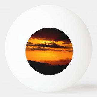 Bola De Ping-pong Foto bonita do por do sol