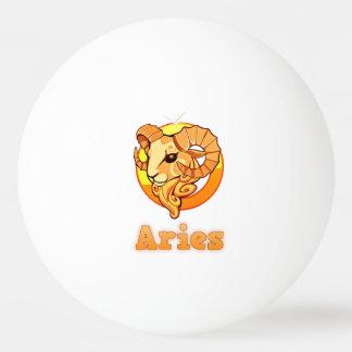 Bola De Ping Pong Ilustração do Aries