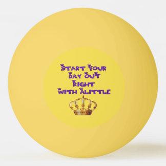 Bola De Ping Pong Licor da coroa