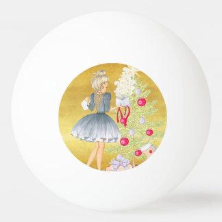 Bola De Ping Pong Mágica do Natal - louro que decora uma árvore