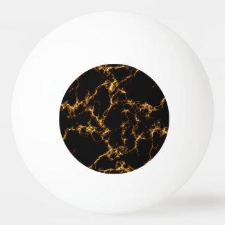 Bola De Ping Pong Mármore elegante style3 - ouro preto
