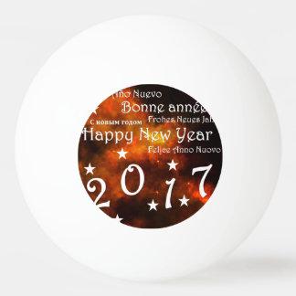 Bola De Ping-pong O feliz ano novo 2017