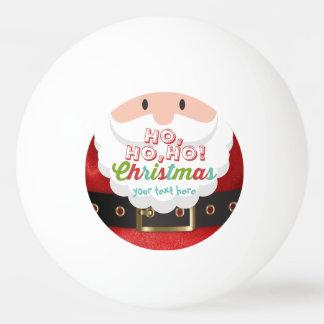Bola De Ping Pong O feliz ano novo do Natal do terno de Papai Noel