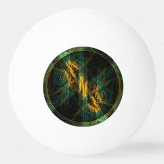 Bola De Ping Pong O olho da arte abstracta da selva