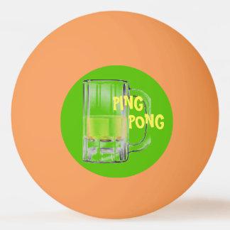 Bola De Ping Pong Partes inferiores acima