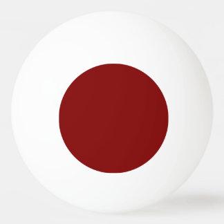 Bola De Ping-pong Somente cor sólida legal OSCB04 do marrom do vinho