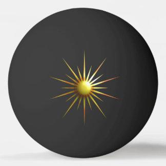 Bola De Ping-pong Sun abstrato