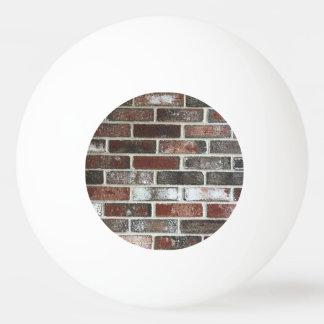 Bola De Ping Pong vário teste padrão da parede de tijolo da cor