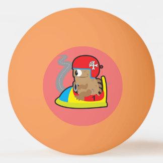 Bola de Pong de três sibilos com condução do